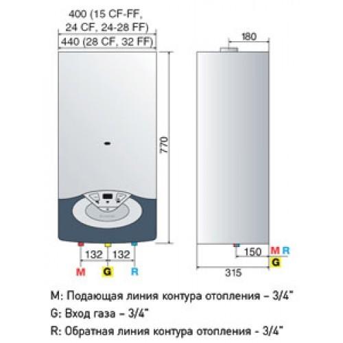 Ariston Clas 24 Ff инструкция по Монтажу