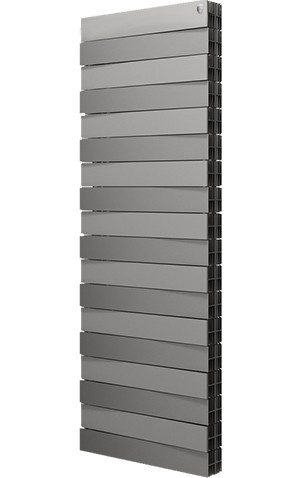 Радиатор Royal Thermo PianoForte 500 Tower серебро 22 секции